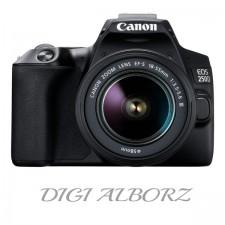 دوربین کانن EOS 250D با لنز 18-55 میلی متر DC III