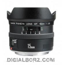 لنز کانن Canon EF 15mm f/2.8 Fisheye