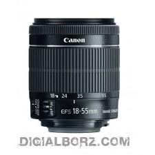 لنز کانن Canon EF-S 18-55mm f3.5-5.6 IS STM