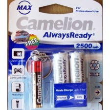 باتری قلمی شارژی کملیون AA - camelion 2500MA