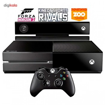 Xbox One ظرفیت 500 گیگابایت + کینکت